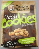 Petits cookies au chocolat et à la nougatine - Produit - fr