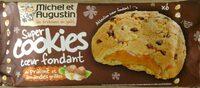 Super Cookies cœur fondant au Praliné et Amandes grillées - Product - fr