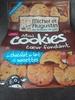 Mini cookies cœur fondant, chocolat au lait et noisettes - Product