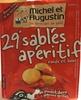 29 sablés apéritif au piment doux & oignons grillés - Produit