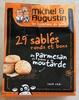 29 sablés ronds et bons au parmesan et graines de moutardes - Product