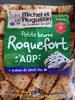 Petit beurre apéritif au roquefort et graines de pavot bleu - Product