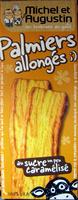 Palmiers allongés au sucre un peu caramélisé Michel et Augustin - Produit