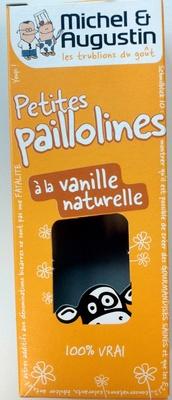Petites paillolines à la vanille naturelle - Product