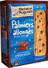 Palmiers pur beurre gouttes de chocolat 120g - Produit