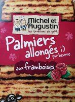 Palmiers allongés aux pépites de framboises - 製品 - fr