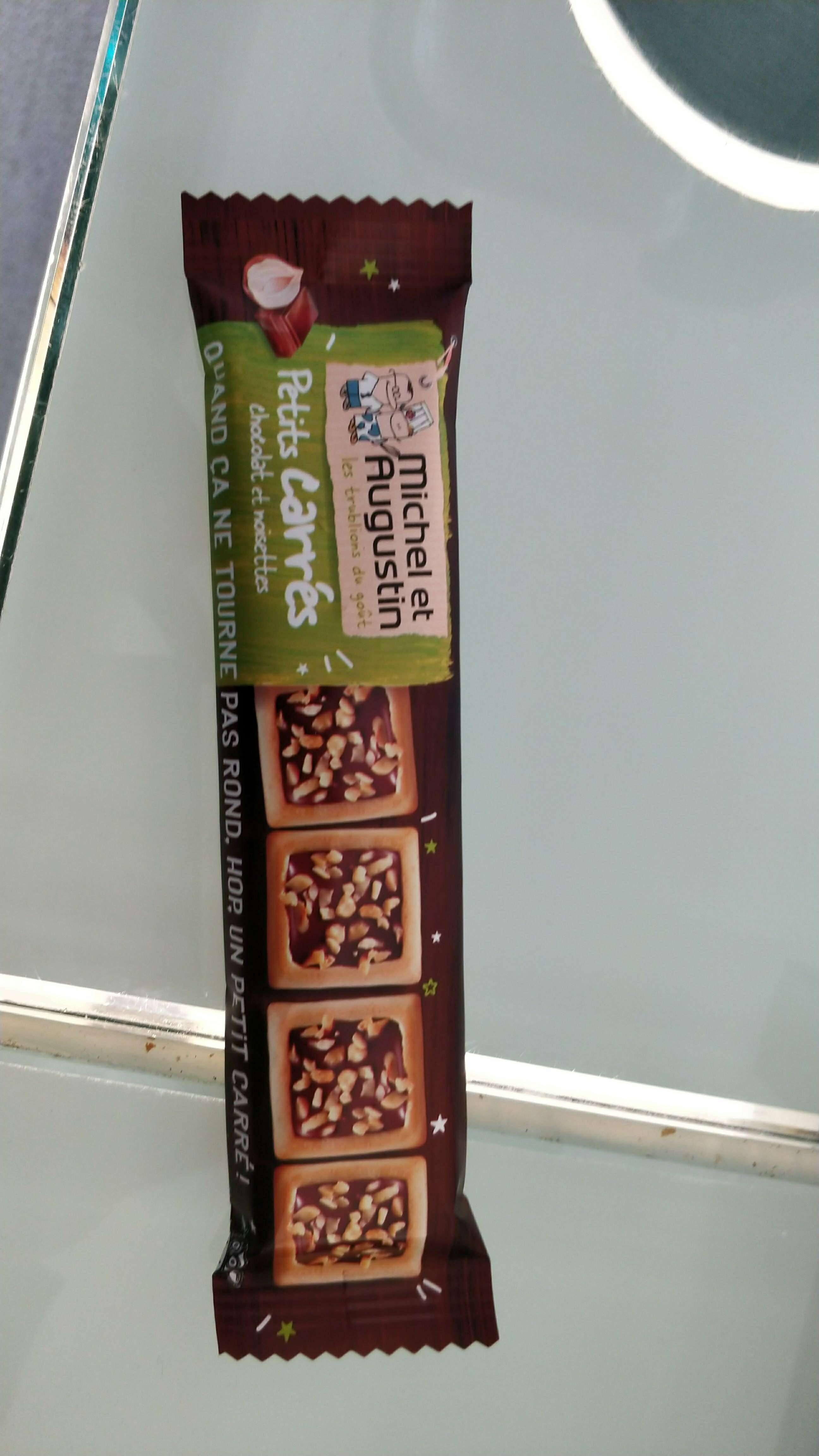 Petits Carrés à La Noisette Au Chocolat Au Lait Et éclat De Noisettes - Product - fr