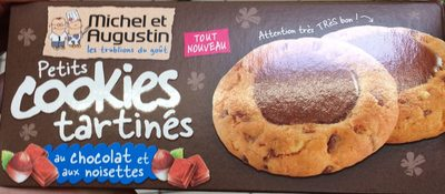 Petits cookies tartinés au chocolat et aux noisettes - Product - fr