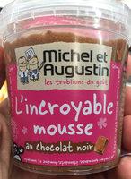 L'incroyable mousse au chocolat noir - Product