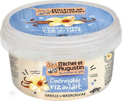 Riz au lait vanille de Madagascar 400g - Produit - fr