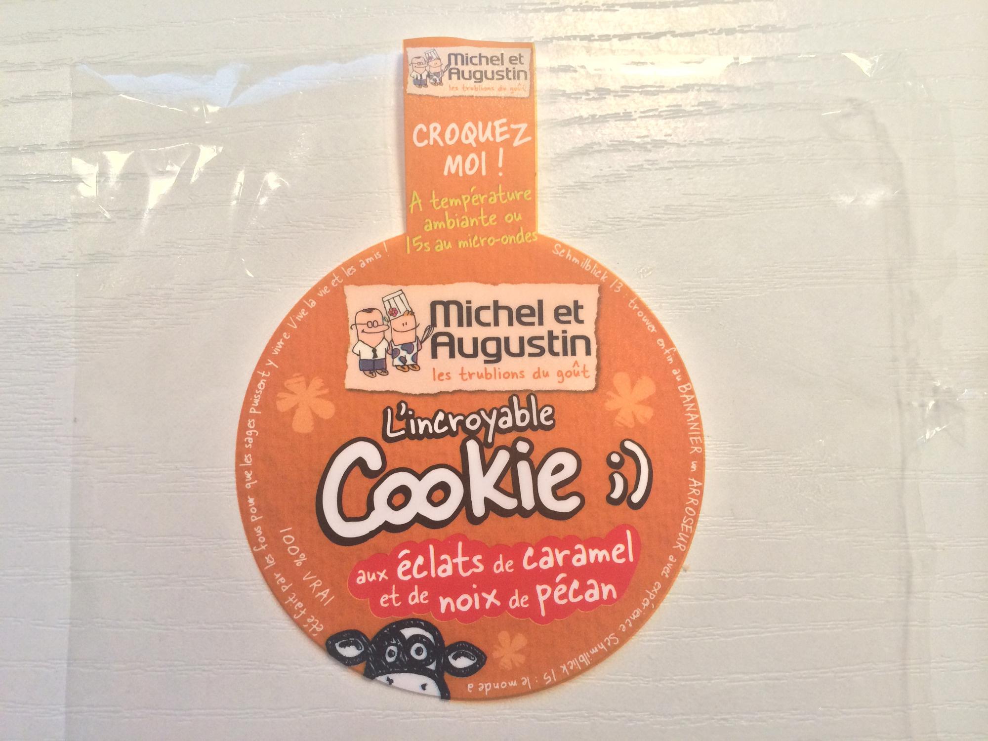 L'incroyable Cookie aux éclats de caramel et de noix de pécan - Produit - fr