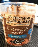 L'Incroyable Mousse au chocolat au lait - Produit - fr