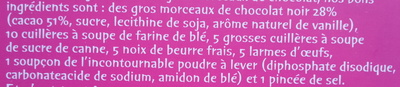 Le Cookie des Rois - Ingrediënten - fr