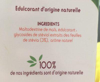 Stevia - Ingrédients - fr