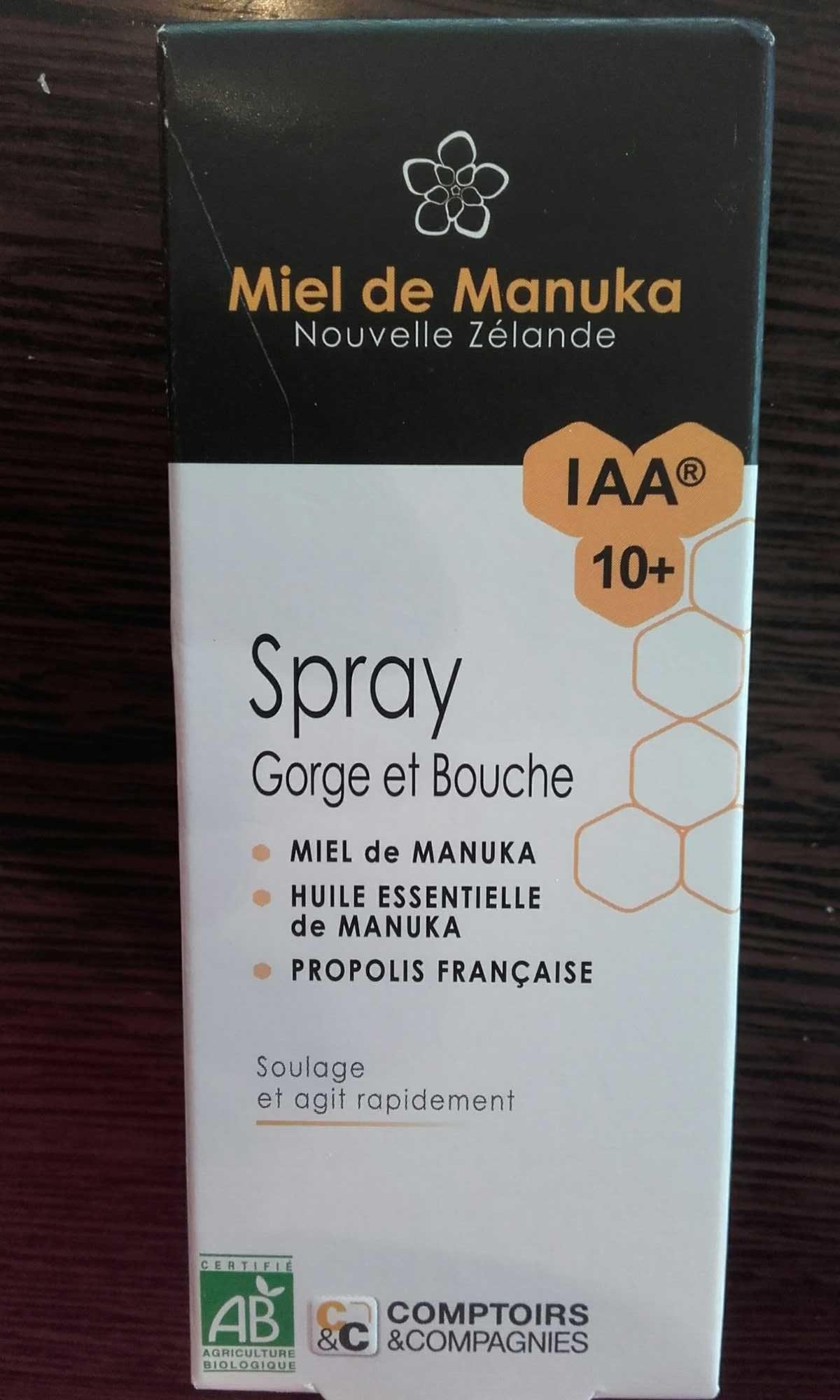 Miel de Manuka (spray) - Produit