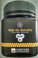 Miel De Manuka Iaa5+ - Produit