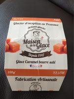 Glace artisanale caramel au beurre sale - Produit - fr
