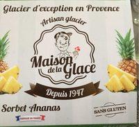 Sorbet Ananas - Product - fr