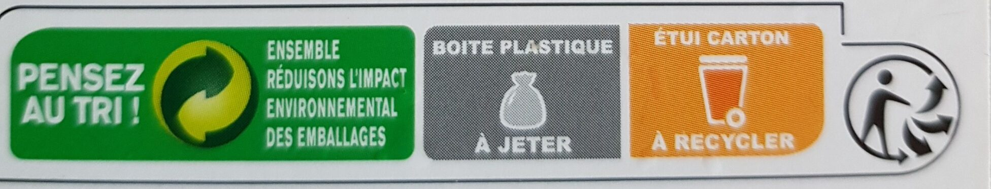 500ML Sorbet Fraise - Recycling instructions and/or packaging information - fr