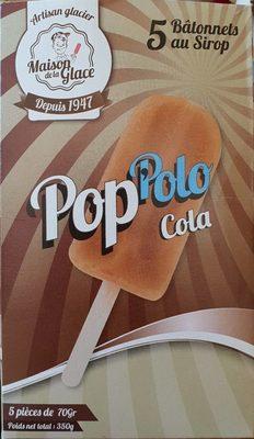 Bâtonnets à l'eau Pop'Polo Pac cola MAISON DE LA GLACE - Produit