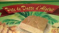 Pâte de dattes d'Algérie - نتاج - fr