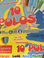 Assortiments 10 polos - Produit - fr