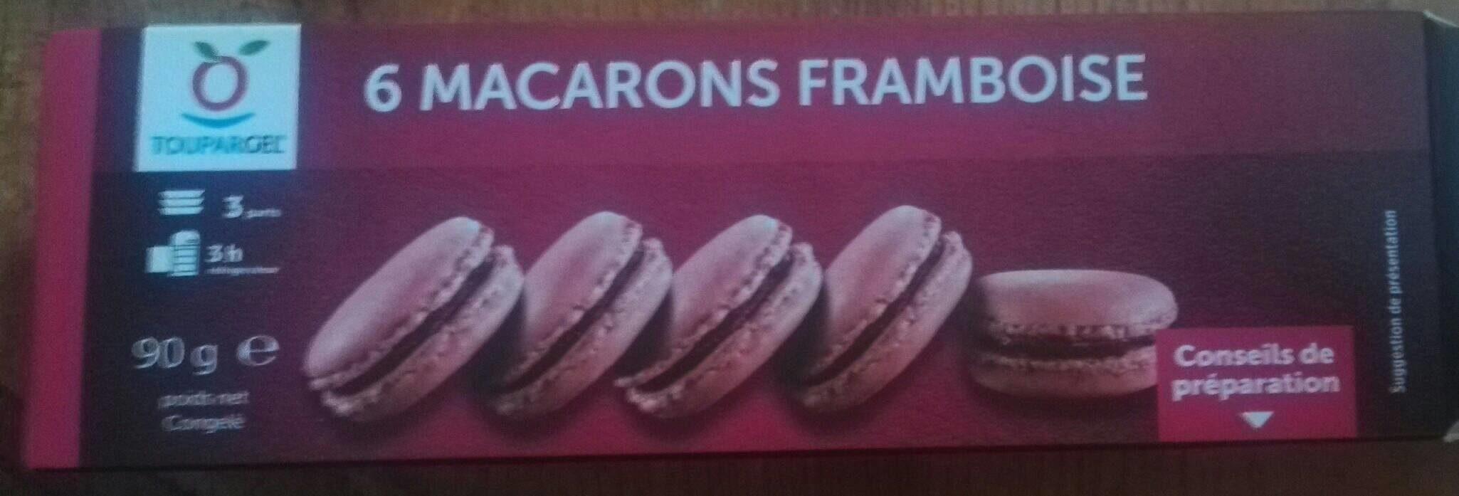 Macarons framboise - Product