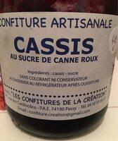 Confiture de cassis - Product - fr