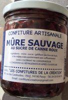Confiture Artisanale Mûre Sauvage au Sucre de Canne Roux - Produit - fr
