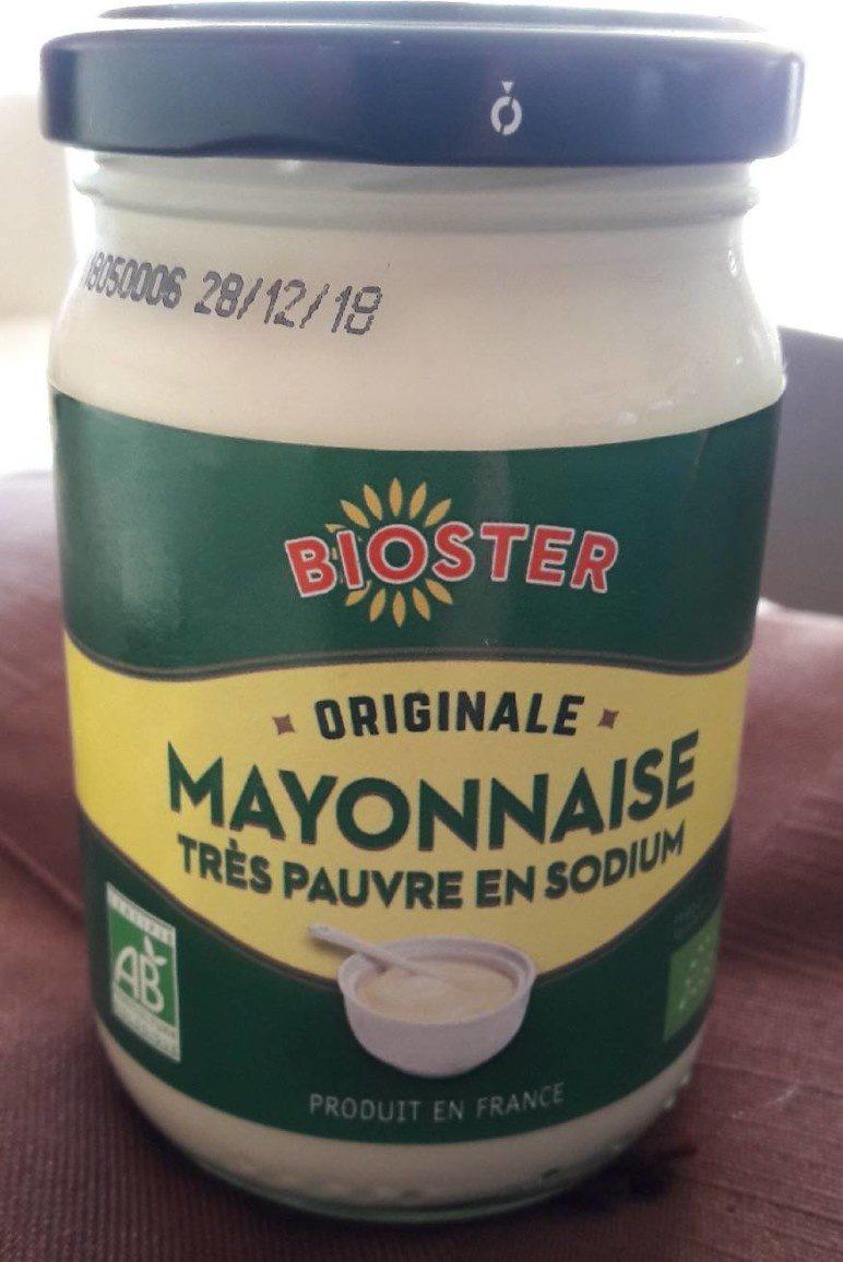 Mayonnaise très pauvre en sodium - Product - fr