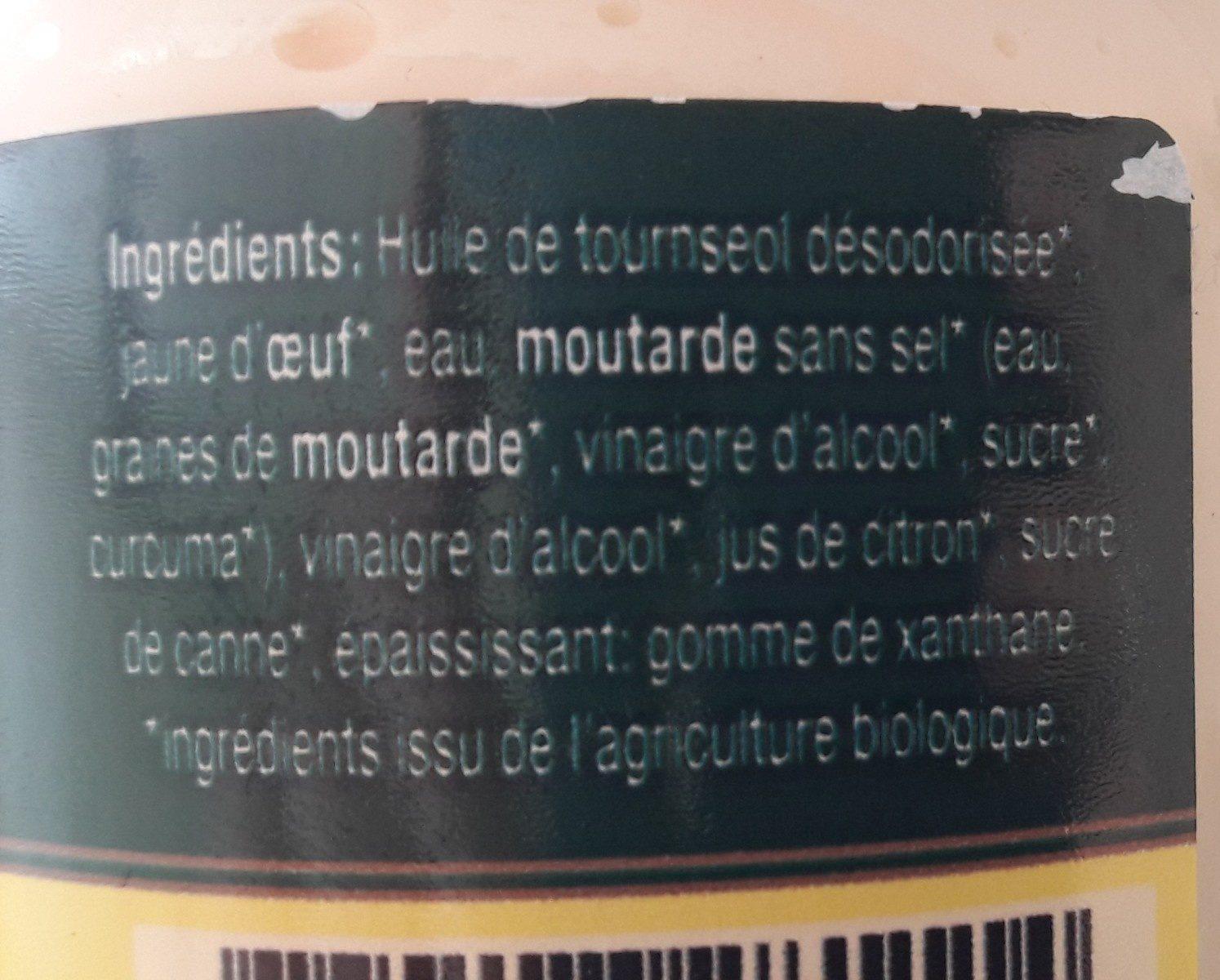 Mayonnaise très pauvre en sodium - Ingredients - fr