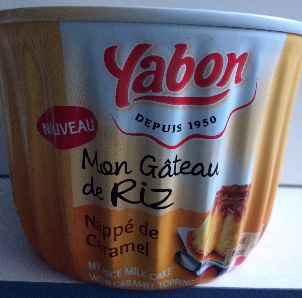 Mon gâteau de riz nappé de caramel - Product - fr