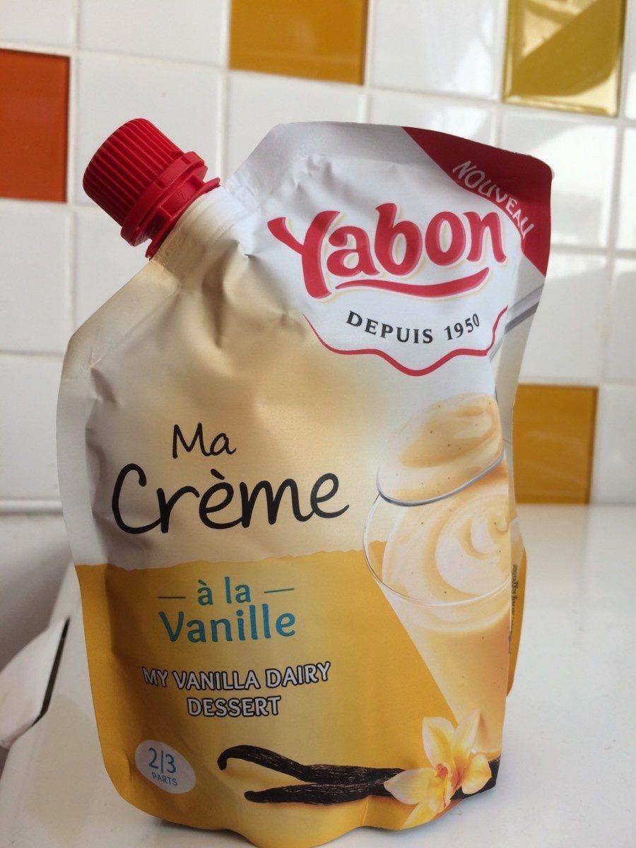 Ma Crème  à la Vanille - Produit