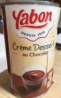 Creme dessert au chocolat - Product