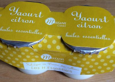 Yaourt citron huiles essentielles - Product