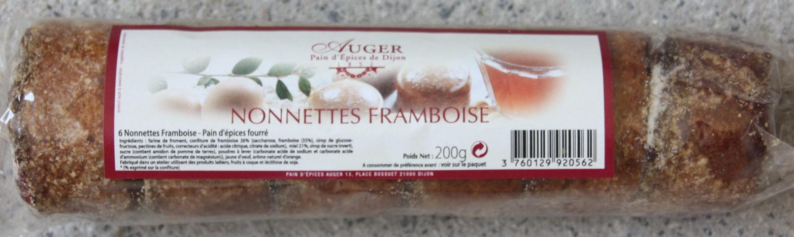 Nonnettes framboises - Produit - fr