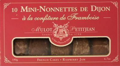 Mini-nonnettes à la confiture de framboise - Produit