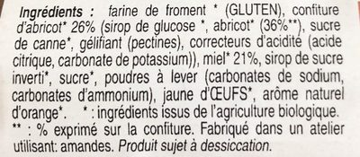 Nonnettes de Dijon - Ingredients