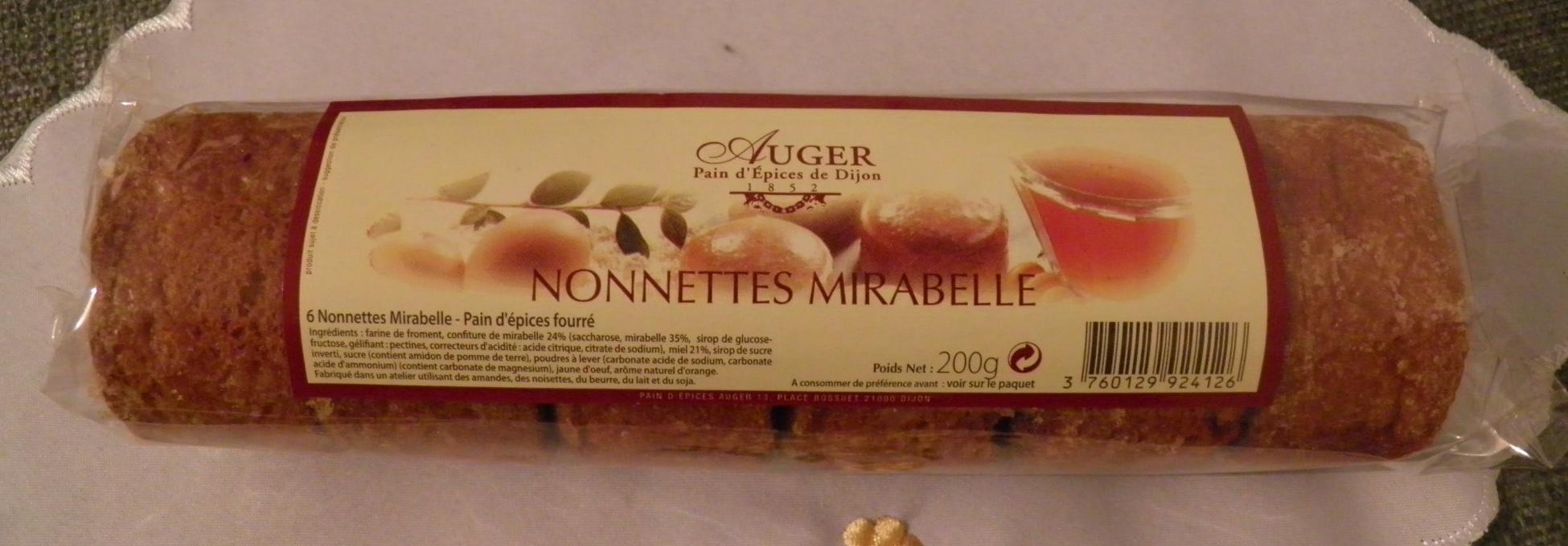Nonnettes Mirabelle Auger - Product - fr