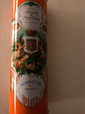 Nonnettes orange - Produit - fr