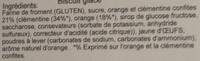 Pain d'épices - Ingrediënten