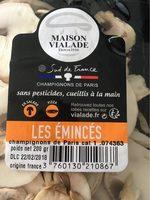 Emincés champignons de Paris - Product