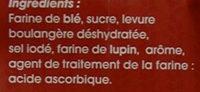 Préparation pour brioche levure boulangère incorporée - Ingrédients - fr