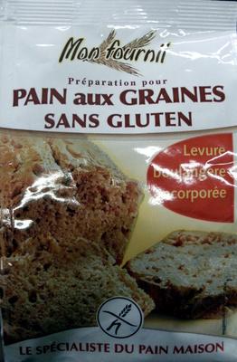 Mon fournil préparation pour pain aux graines sans gluten - Produit