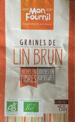 Graines de Lin Brun - Product - fr
