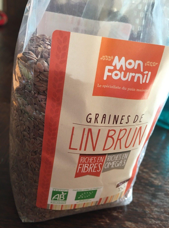 Graines de Lin Brun - Voedingswaarden - fr
