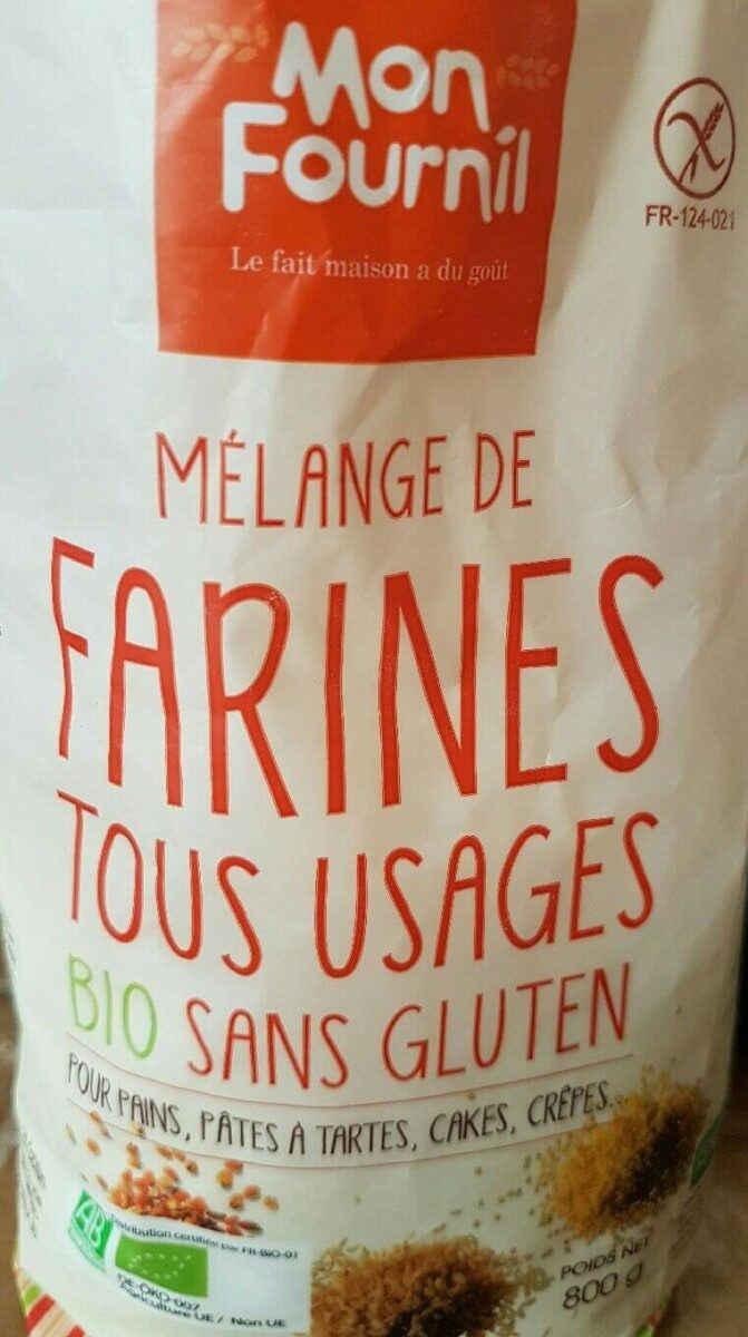 Farines tous usages bio sans gluten - Product