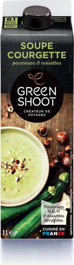 Soupe Courgette Parmesan Noisettes 1L - Produit - fr