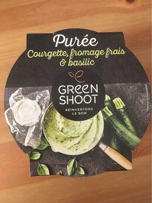 Purée courgette, fromage frais et basilic - Product - fr