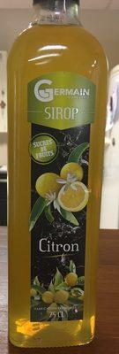 Sirop de citron - Produit